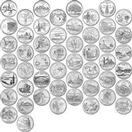 UNITED STATES Silver Coin QUARTERS